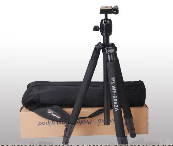 NEW-FANCIER-Pro-WF-6662A-Camera-Stand-Tripod-with-6160H-Ball-head-bag